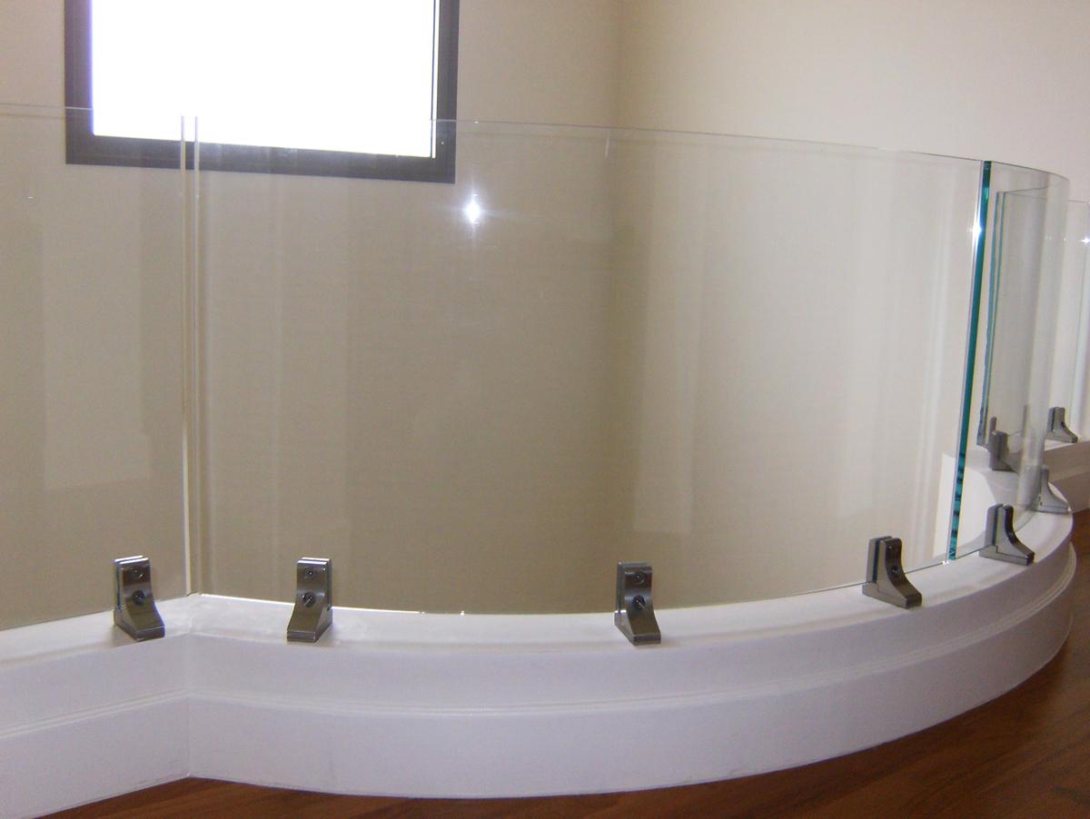 Glass Balcony divider