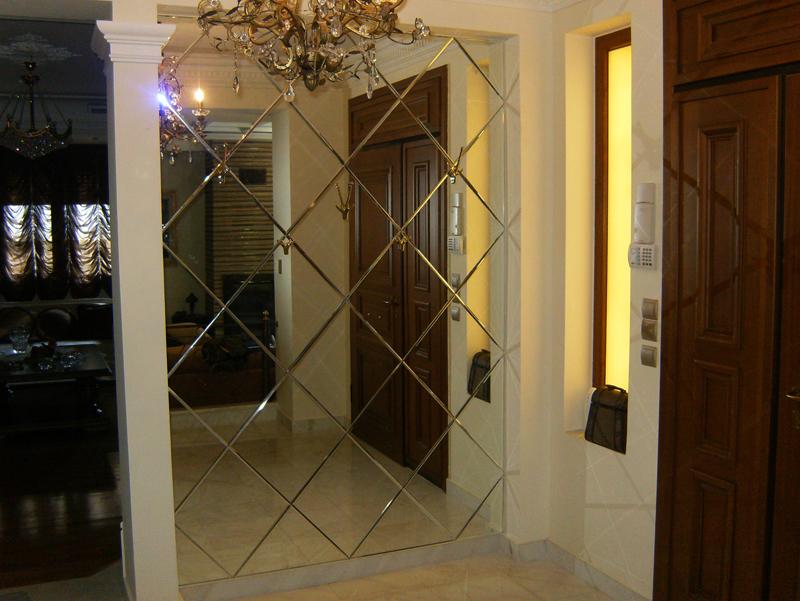 Επένδυση εισόδου με καθρέπτη