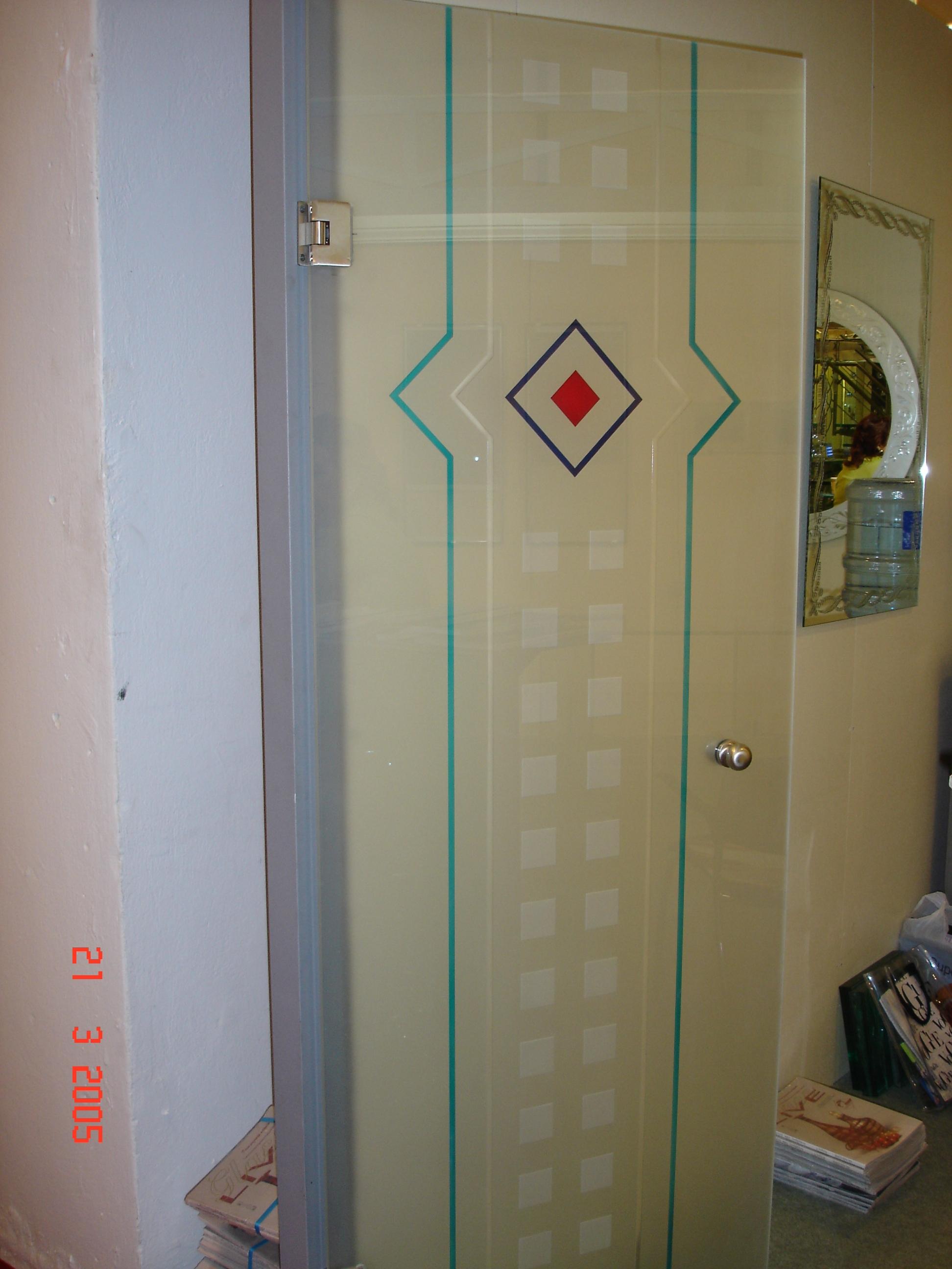 Εσωτερική πόρτα Νο 6