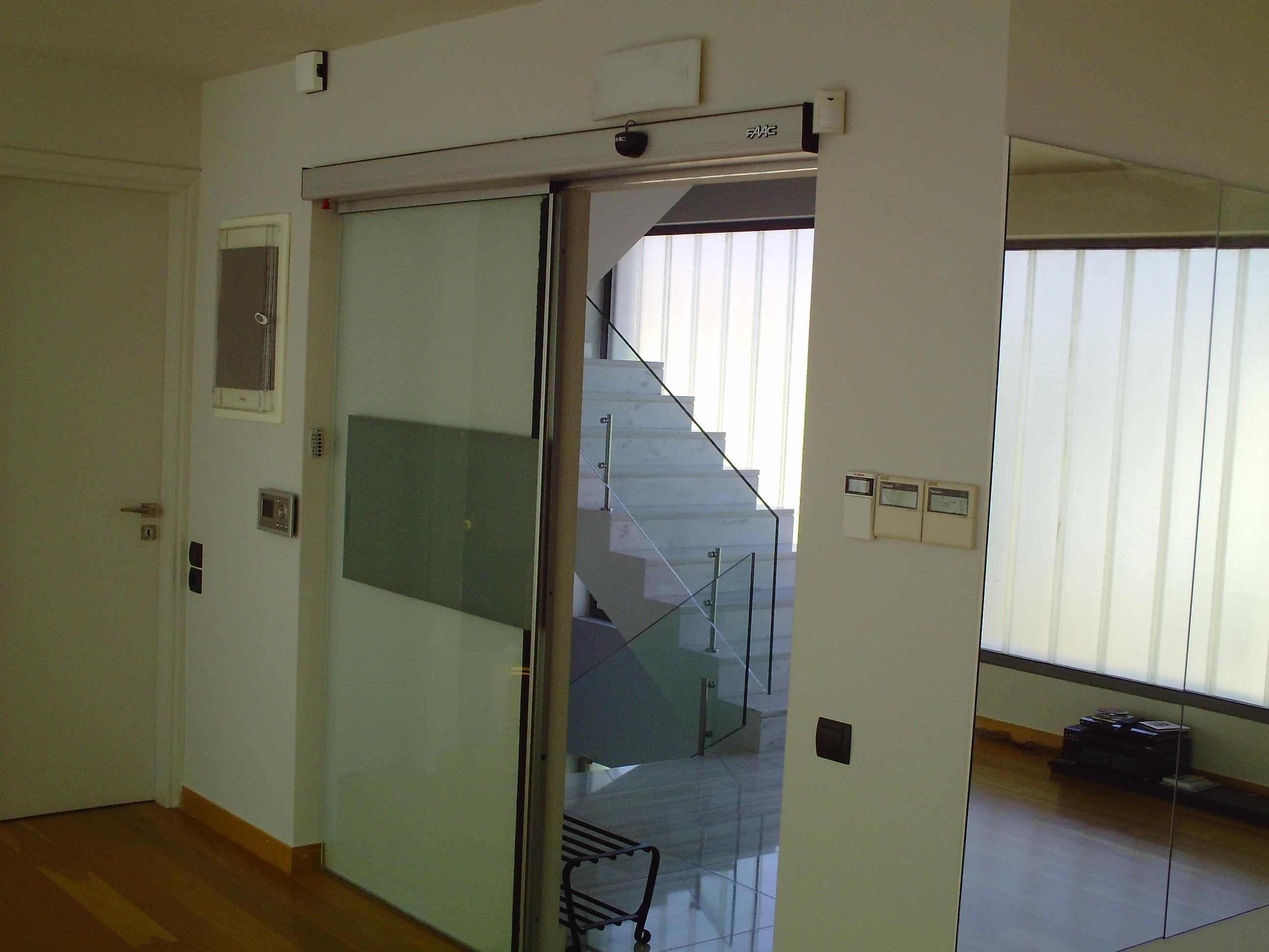 Αυτόματη πόρτα εσωτερικού χώρου